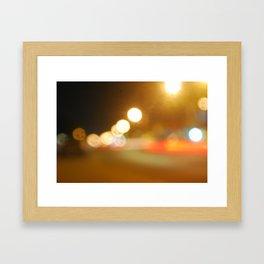 Nocturnario (blur) Framed Art Print