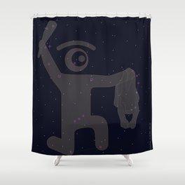 or.eye.on constellation Shower Curtain