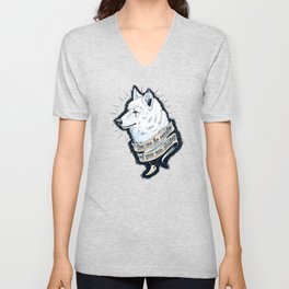 Wolf Protector Unisex V-Neck