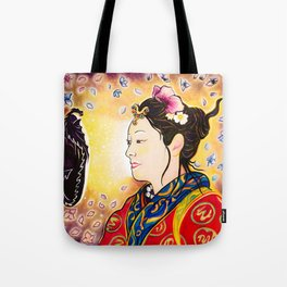 Amaterasu Goddess Tote Bag
