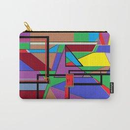 Geometry - Shape on Shape Carry-All Pouch