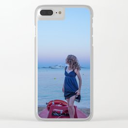 At dawn Clear iPhone Case