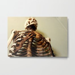 Foley Skeleton Metal Print