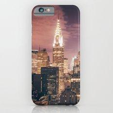 New York City - Chrysler Building Lights Slim Case iPhone 6s