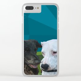 Barry Dog Clear iPhone Case