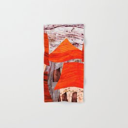 Shanty Town Abstract Hand & Bath Towel