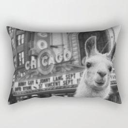 Chicago Llama Rectangular Pillow