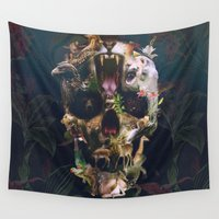 ali gulec Wall Tapestries featuring Kingdom by Ali GULEC