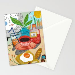 Cosy brunch Stationery Cards