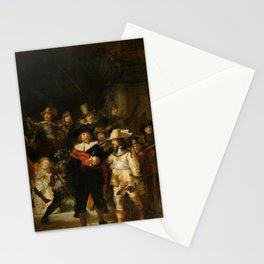 Rembrandt van Rijn - Nightwatch - Nachtwacht (1642) Stationery Cards