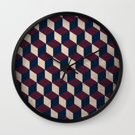 pop cube Wall Clock