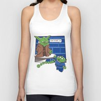 toy story Tank Tops featuring Toy Wars Story by Wacacoco