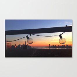 NY Sunset Series 2 Canvas Print