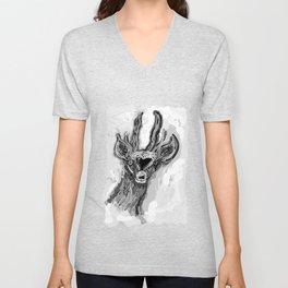Ciervo de altura Unisex V-Neck
