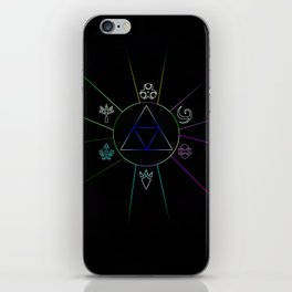 The Triforce Of Symbol iPhone Skin