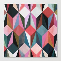colour + pattern 21 Canvas Print
