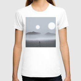 A Bleak Path Under Two Suns T-shirt