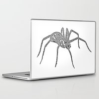 spider Laptop & iPad Skins featuring Spider by Jessica Slater Design & Illustration