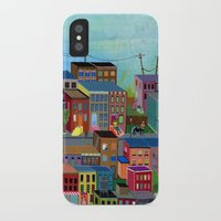 three of the possessed iPhone & iPod Cases featuring Three by Valeriya Volkova