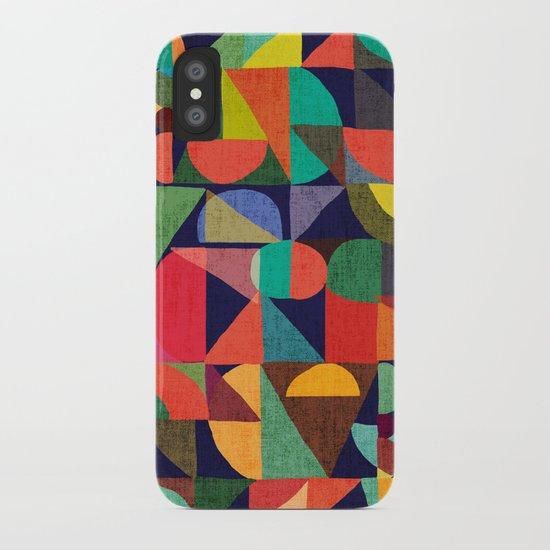 Color Blocks iPhone Case