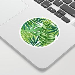 Tropical leaves III Sticker