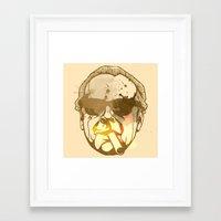 jack nicholson Framed Art Prints featuring Jack Nicholson by BIG Colours