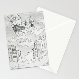 Out of the Fog Stationery Cards