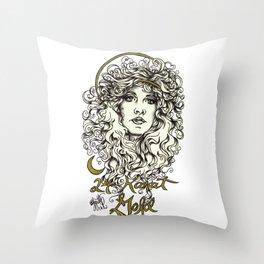 24 Karat Throw Pillow