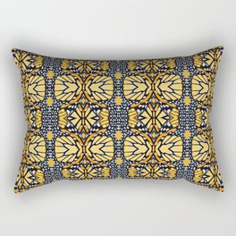 Butterfly Wing Pattern Rectangular Pillow