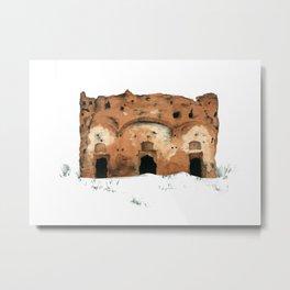 Ruin Metal Print