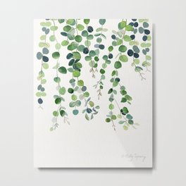 Eucalyptus Watercolor 4 Metal Print