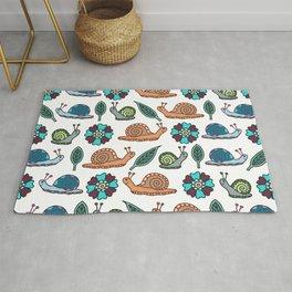 Garden Snails | Snails Pattern Rug