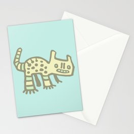 Cave Cat Stationery Cards