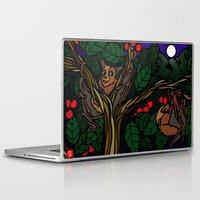 bats Laptop & iPad Skins featuring Bats by Mel McIvor