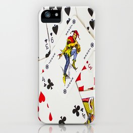 Joker In The Pack iPhone Case
