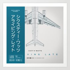 Arriving Late - Variant Art Print