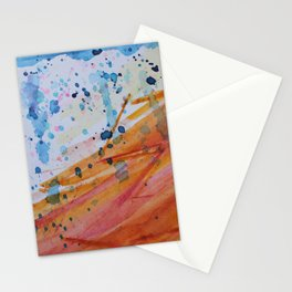 OceanFire watercolor Stationery Cards