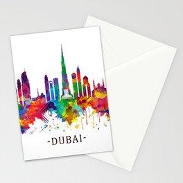 Dubai UAE Skyline Stationery Cards