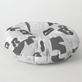 Abstract pattern 51 Floor Pillow
