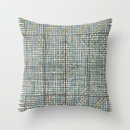 boceto de tejido Throw Pillow