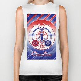 One Love (Patriot) Biker Tank