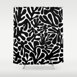 The Cut Outs // B&W Shower Curtain