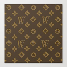 Weed Couture Canvas Print
