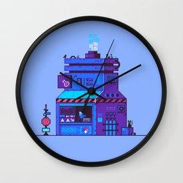 Cyberpunk Chemical Dealer Wall Clock
