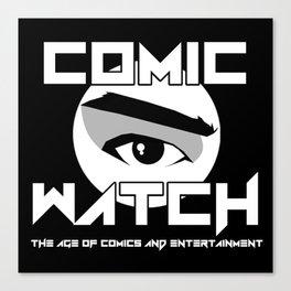 Comic Watch v4 Canvas Print