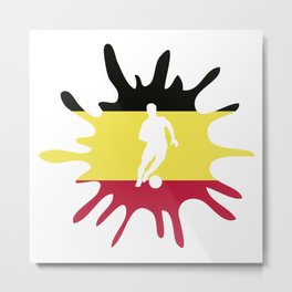 The Flag of Germany II Metal Print