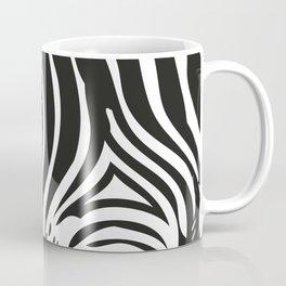 Zebra Stripes | Animal Print | Black and White | Coffee Mug