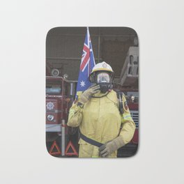 Fire Fighter Bath Mat