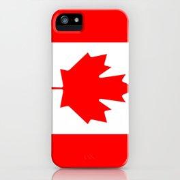 Flag of Canada iPhone Case