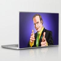 better call saul Laptop & iPad Skins featuring Better Call Saul by Ryan Ketley